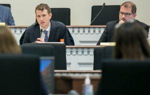 Rep. Fitzgibbon speaking in committee
