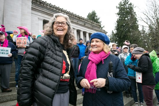 Photo of Rep. Jinkins with Trudi Inslee