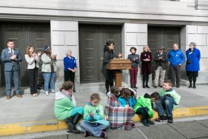 Reinventing Foster Care Press Conference, March 10th, 2017.