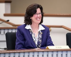 Rep. Christine Kilduff in House Education Committee, Feb. 19, 2018.