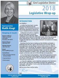 Image of Kagi's first page of newsletter