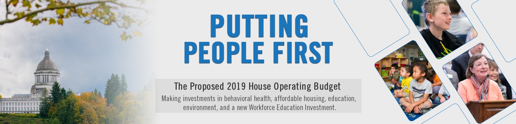 The House 2019 budget proposal