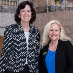 Reps. Kilduff and Leavitt together in rotunda