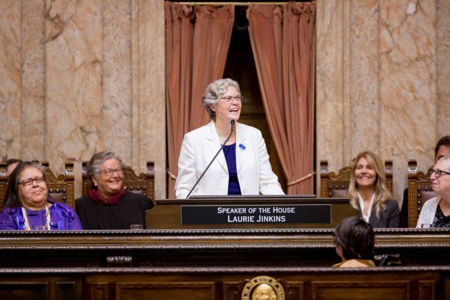 Speaker Jinkins at rostrum