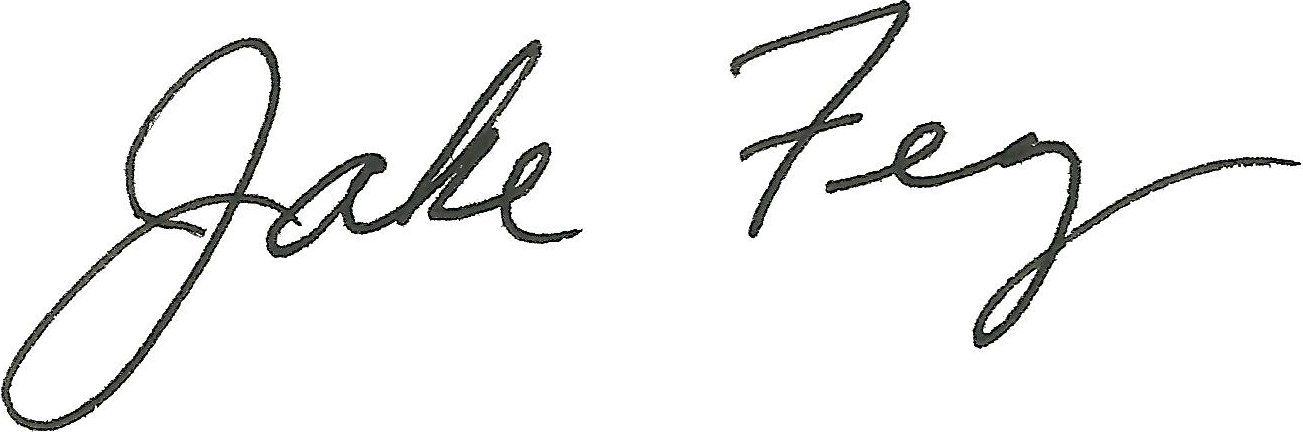 Rep. Fey signature