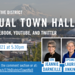 town hall announcement banner