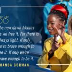 Amanda Gorman image and quote