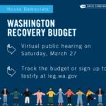Washington Recovery Budget graphic