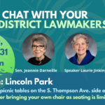 Aug 31 Lincoln Park Chat graphic