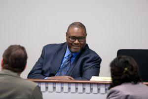 Rep Pettigrew in committee