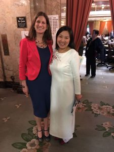 Representatives Senn and Thai on the first day of the legislative session