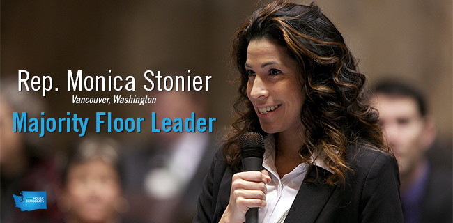 Rep. Monica Stonier, Majority Floor Leader