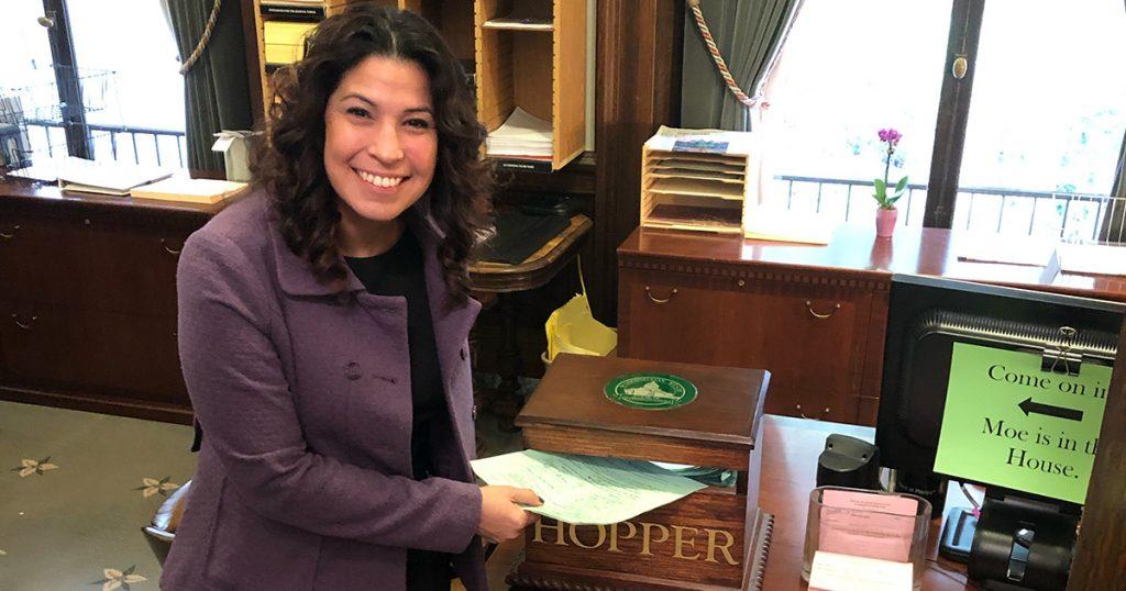 Rep. Monica Stonier dropping HB 1407