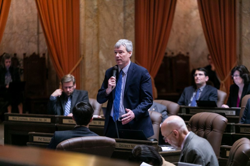 Rep. Sullivan speaking on House floor