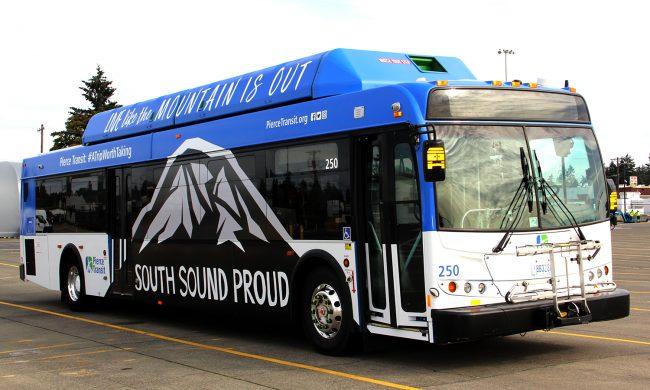 SS Proud Bus Tacoma Transit