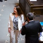 Rep. Duerr on the State House floor