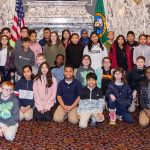 Students from the 30th District visiting the capitol