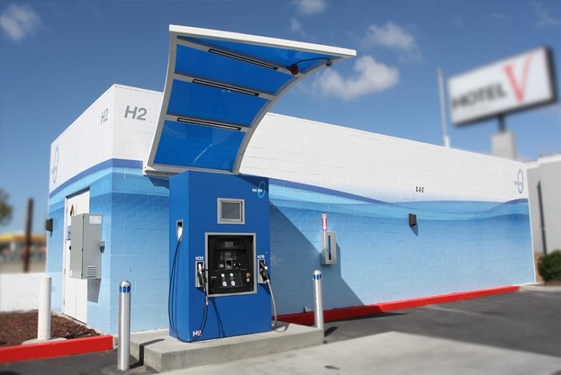 biofuels fueling station